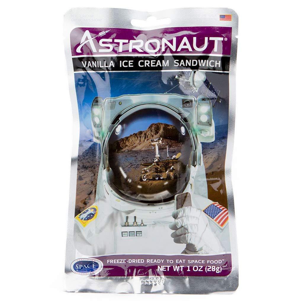Astronaut Vanilla Ice Cream Sandwich (One Serving Pouch)