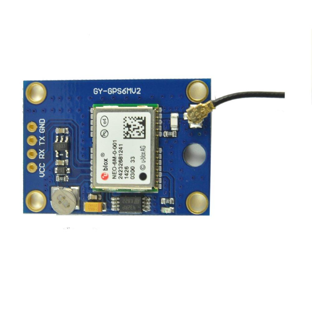Módulo GPS Neo-6 M u-blox Ublox W/antena receptor 3 V-5 V 9600 ...