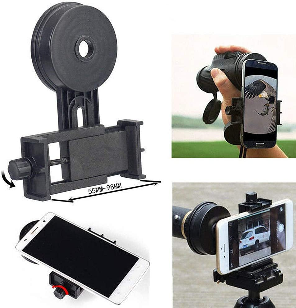 Car Mount for Cell Phone Universal Adapter Bracket Astronomical Camera Adapter Smartphone Mount Bracket