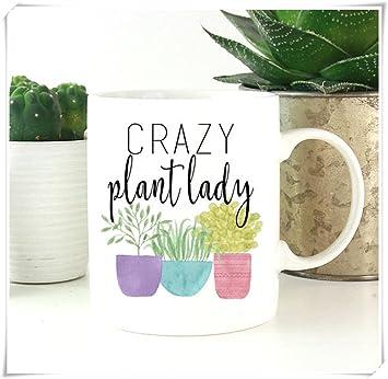 ab11765c316 Crazy Plant Lady, Gardening Mug, Gardening Gift, Plants, Plant Lover, Plant