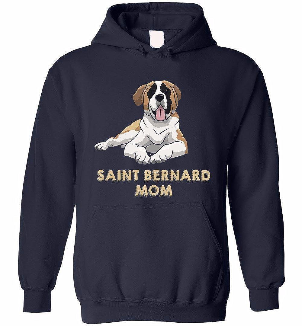 eden tee Saint Bernard Mom Hoodie Cool Lover Gift