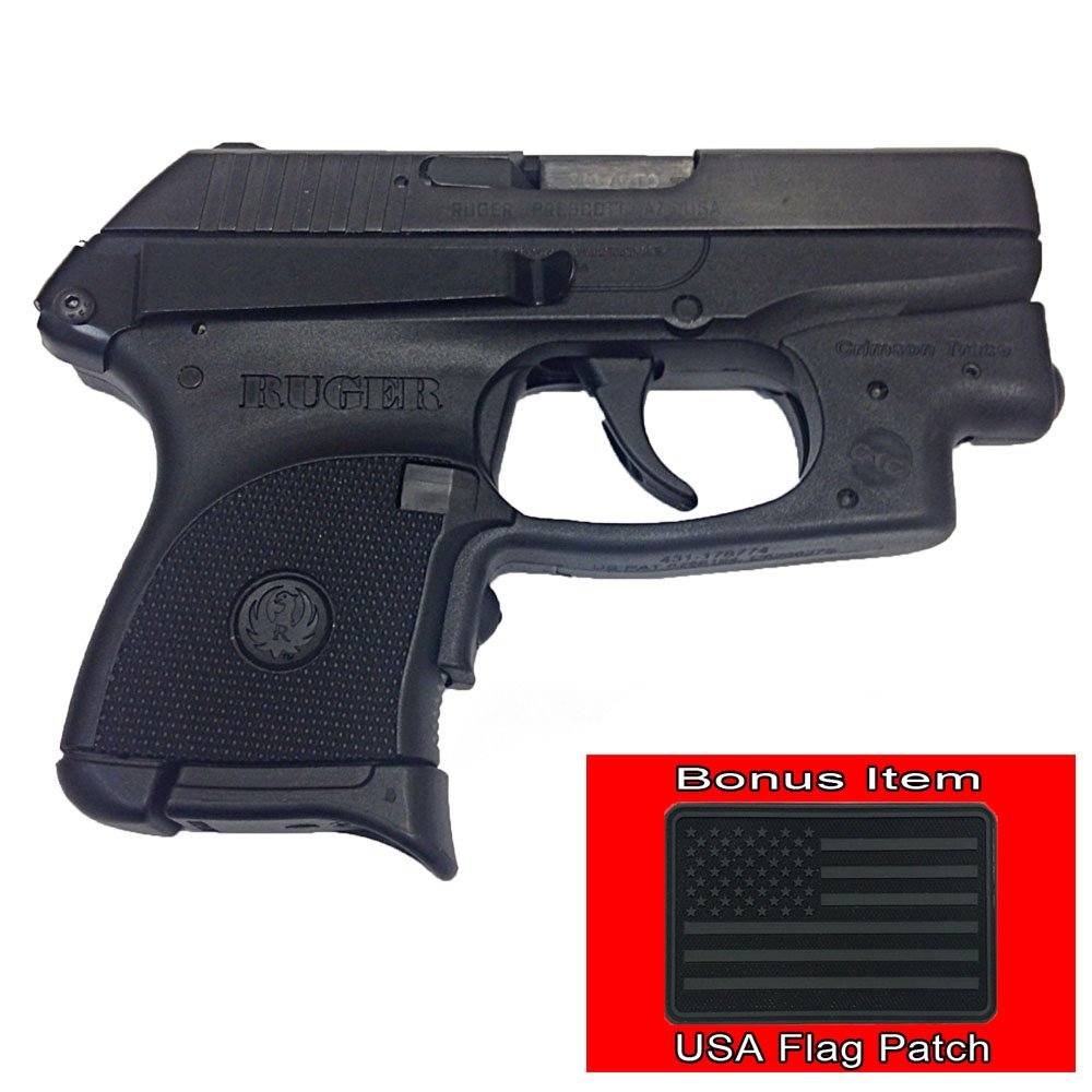 Clipdraw Mount for Ruger LCP .380 w/ Bonus EXO's Velcro USA Black Flag Patch