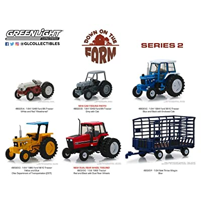 New DIECAST Toys CAR Greenlight 1:64 Down ON The Farm Series 2 Assortment (6 Styles) Set of 6 48020: Toys & Games [5Bkhe0501679]