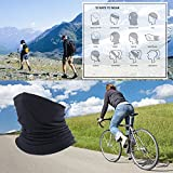 SAITAG Sun Dust Protection Neck Gaiter Breathable