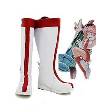 Yu-Gi-Oh! Injection Fairy Lily Cosplay Shoes Boots Custom Made