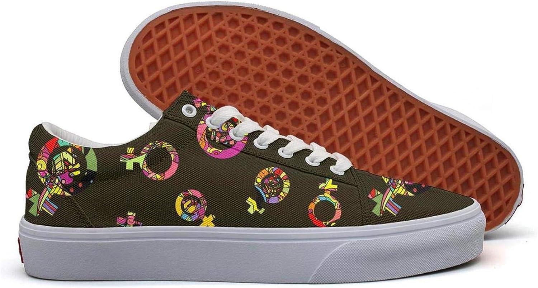 KROT8UTF - Zapatos para Bote con Bandera Vegana Internacional de Goma Vegana Transpirable para Hombre, (Colorful Feminist Logo), 43 EU: Amazon.es: Zapatos y complementos