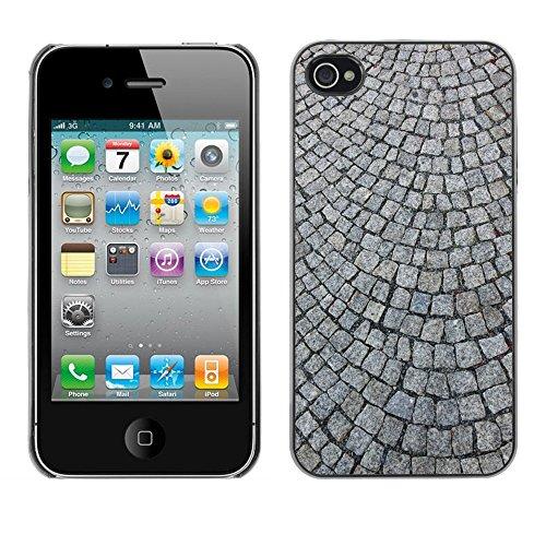 Premio Sottile Slim Cassa Custodia Case Cover Shell // M00156368 Pavé Pavés // Apple iPhone 4 4S 4G
