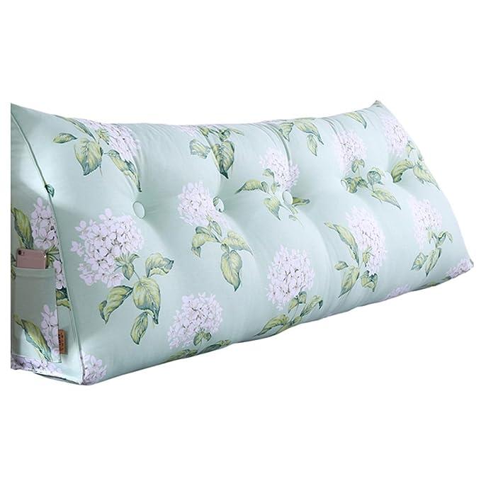 SHU-A Bed Head Cushion Bed Soft Bag Almohada Sofá Bay Window ...