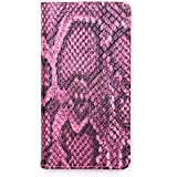 iPhone 6 Case, Snake Skin Vintage Print Leather Case Wallet Cover with Card Slots with Screen Protec