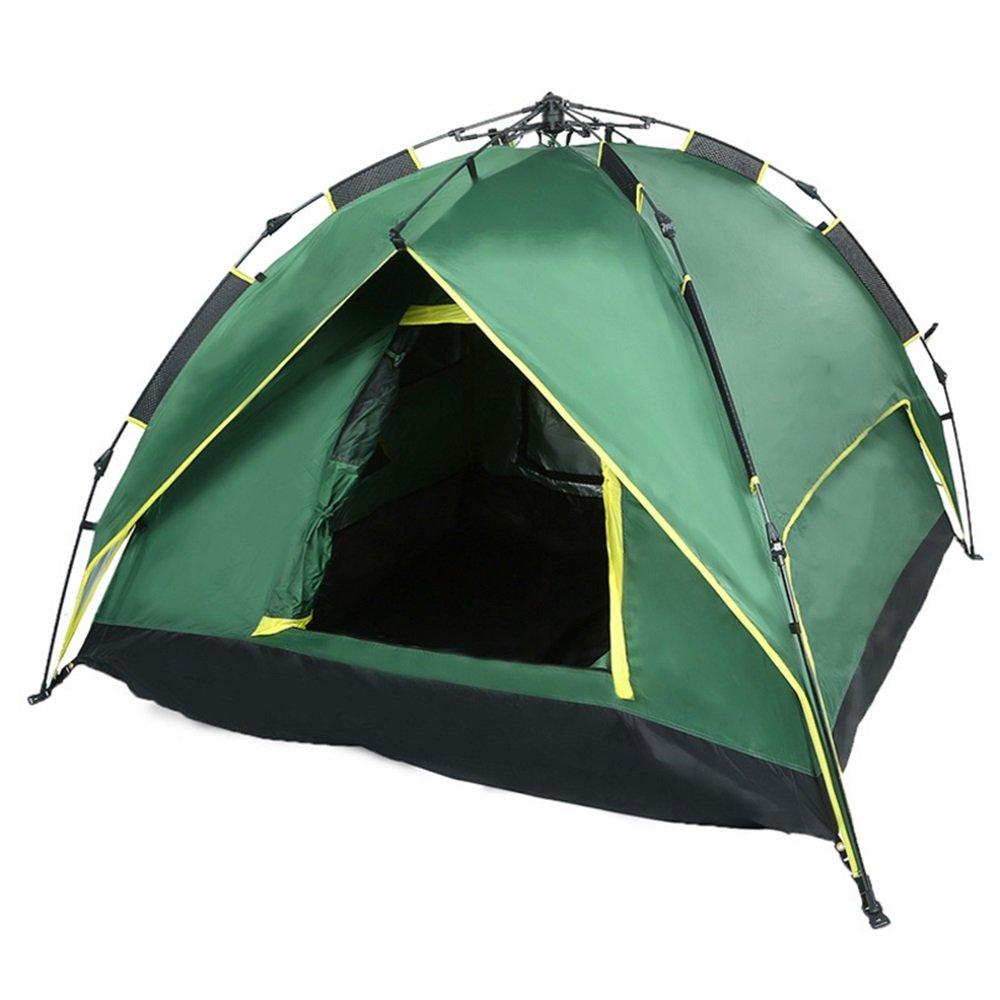 YuFLangel Outdoor Camping Doppelzimmer Zelte, Zelte und Seil Typ automatische Zelte für den Freien Bau von schnell offenen Imprägnierung Zelte Beach Tent