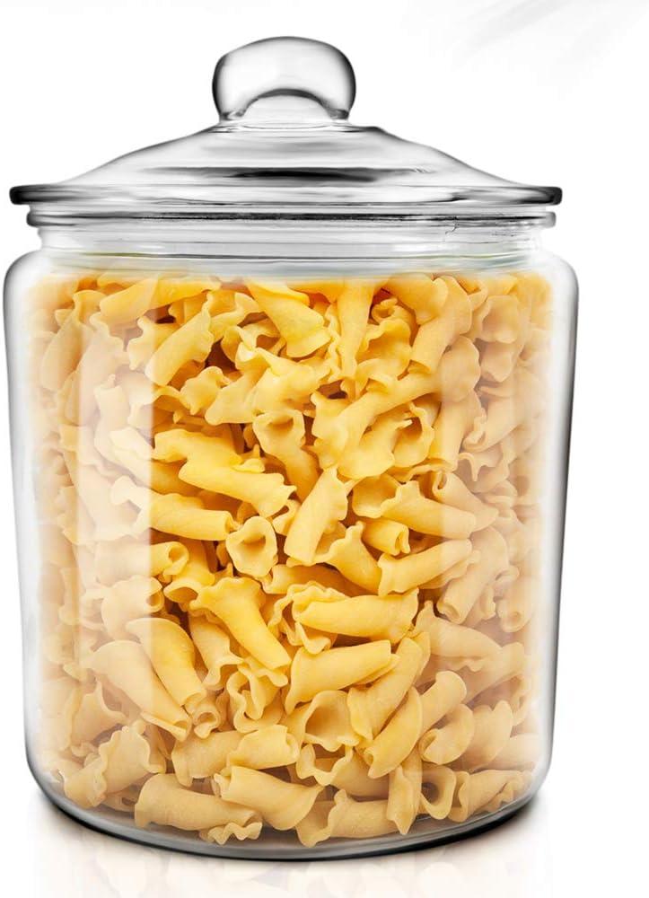 Masthome 5 Piezas Recipientes Herm/éticas con Tapas,Contenedores de Almacenamiento de Alimentos de Pl/ástico,sin BPA,para Cereales,Comida