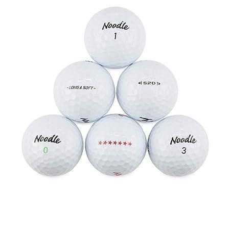 Maxfli Noodle 50 Perfect Mint Used Golf Balls
