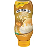 Smucker's Sundae Syrup Butterscotch Flavored Syrup, 20-Ounce (Pack of 6)