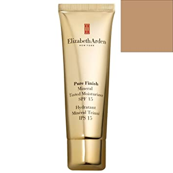 Pure Finish Mineral Tinted Moisturizer SPF 15 - # 04 Deep 1.7oz Aveda Tulasara Concentrate for Unisex, Bright, 1 Ounce