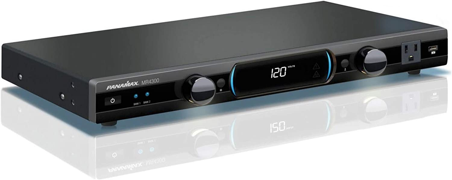 Panamax MR4300 MR4300 9-Outlet Home Theater Power Management with Surge Protection and Power Conditioning