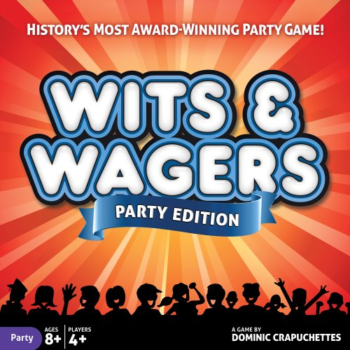 North Star Games Wits & Wagers Board Game | Party Edition, Kid Friendly Party Game and Trivia]()