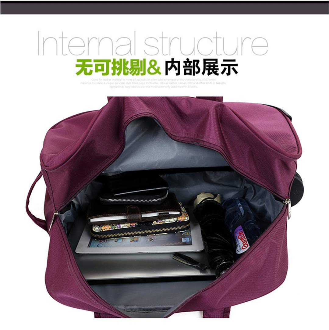2024 Inch Trolley Travel Bag H Luggage Rolling Duffle Bags Waterproof Oxford Suitcase Wheels Carry 24inch1