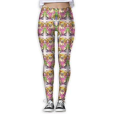 Yoga Pants,Workout Leggings,Womens Doug The Pug Pizza King ...