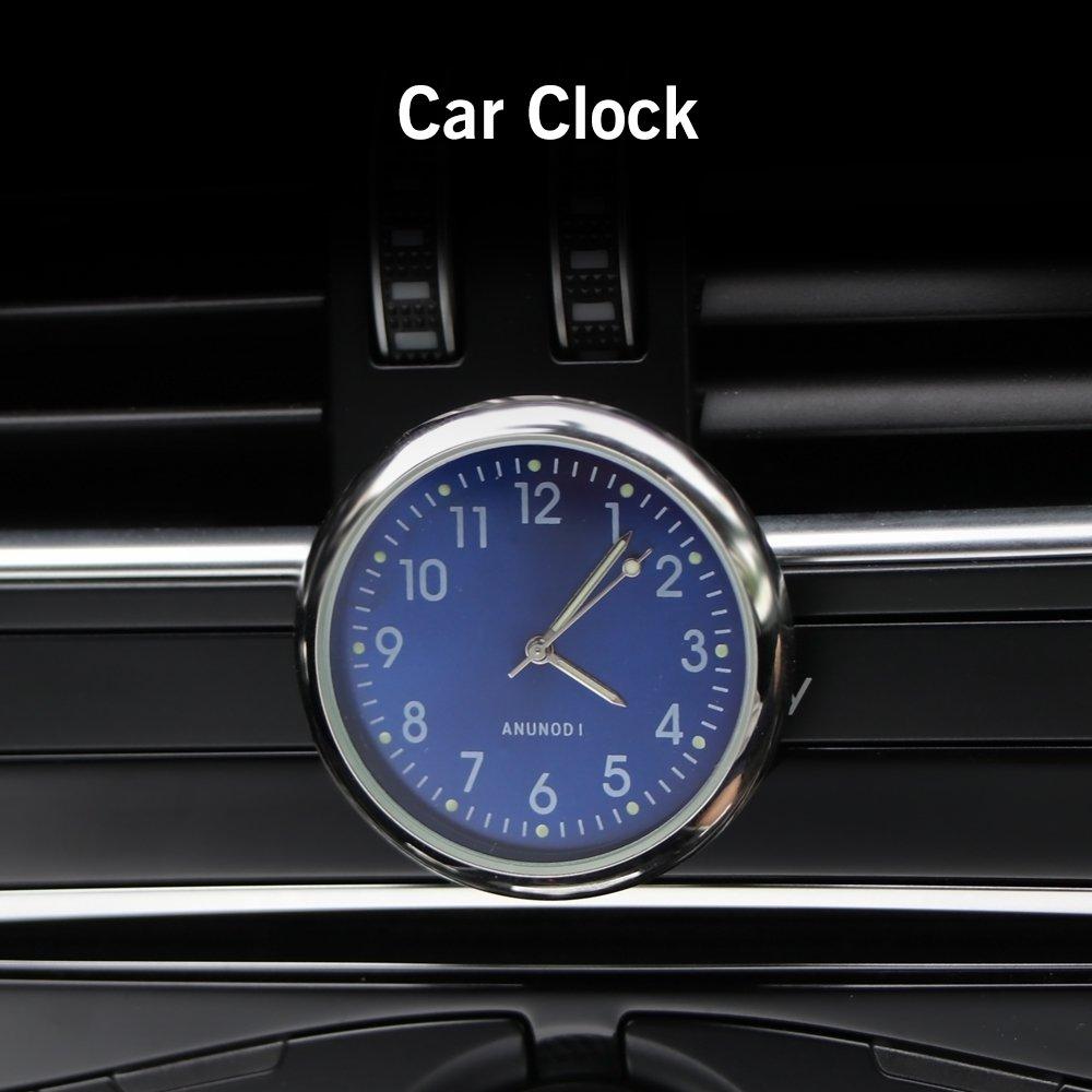 Quarzo Orologio dellautomobile Stick Cruscotto Clock