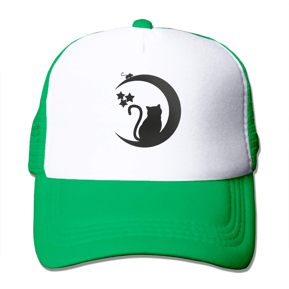 Zhiwei Station Cat and Mouse Black Unisex 3D Printed Trucker Hat