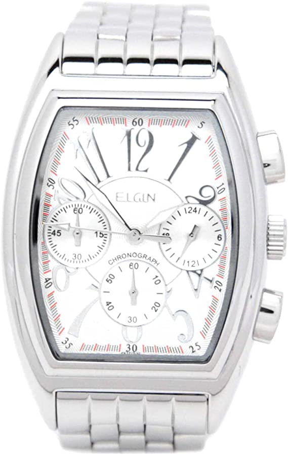 [エルジン] 腕時計 FK1215S メンズ シルバー