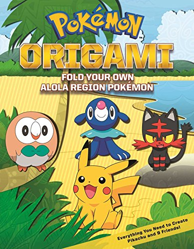 Pokemon Origami: Fold Your Own Pokemon!: Amazon.de: Press, Pikachu ... | 500x389