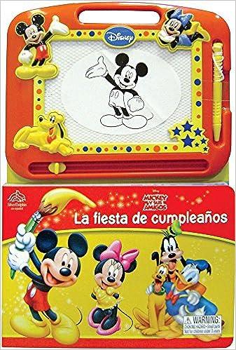 La fiesta de cumpleanos / Drawing with Mickey! Disney Mickey ...