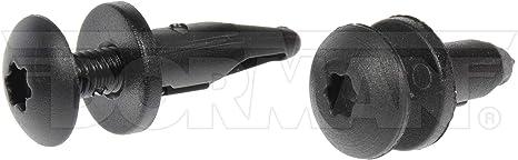 Black Dorman 961-040D GM Push Retainer Assortment 6 Piece