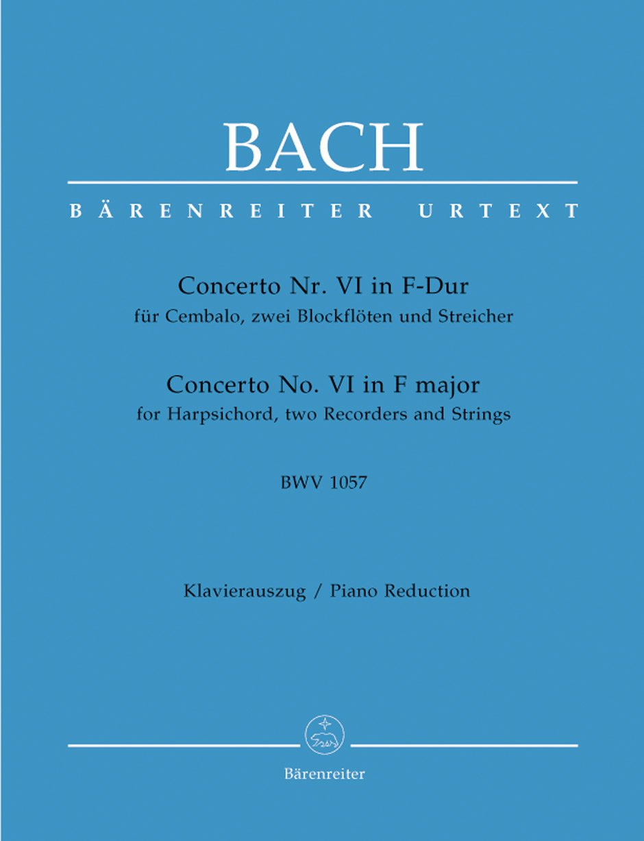 Bach: Harpsichord Concerto No. 6 in F Major, BWV 1057