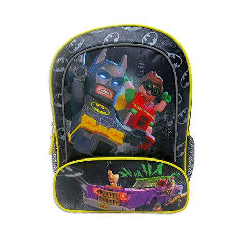 ac52d237a8c Image Unavailable. Lego Batman Robin Joker Full Size 16 inch DC Comics  School Backpack