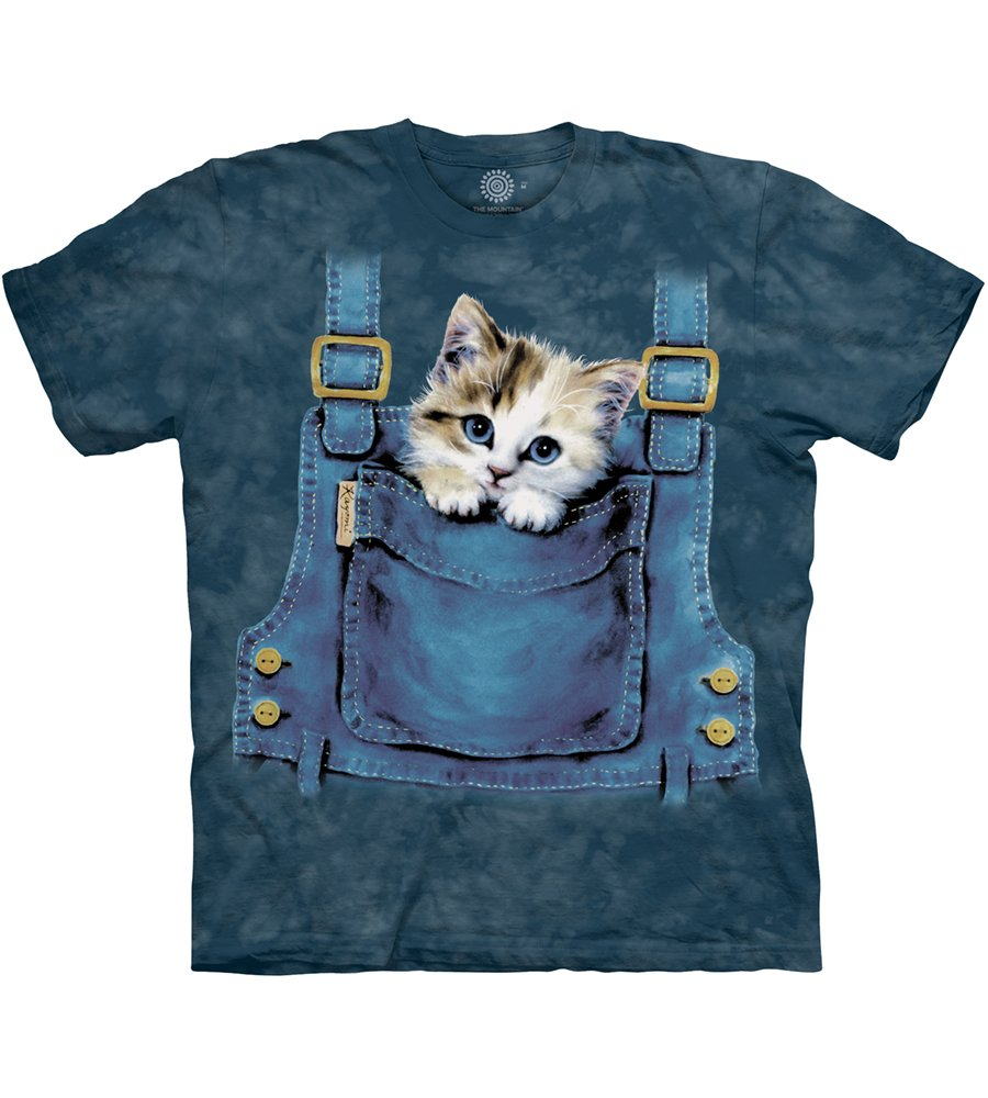 The Mountain Kids Kitty Overalls T-Shirt Getting Fit 151016