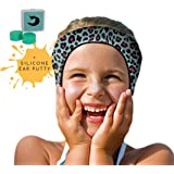 Will & Fox Swimming Ear Band for Kids Toddlers & Babies with Ear Tubes ~Free Putty Earplugs ~The #1 Headband ENT Physicians Recommend ~ Holding Plugs in Place and Ears Dry ~ Huge Range of Styles!