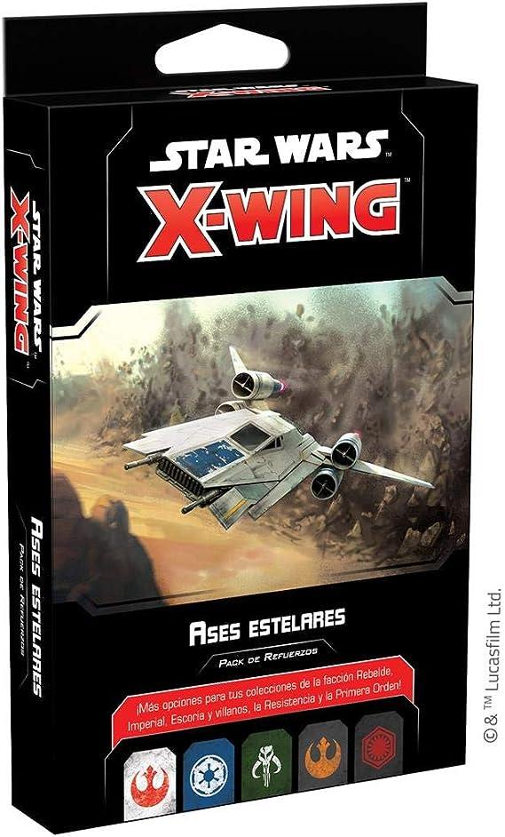 Fantasy Flight Games- Star Wars X-Wing 2.0 - Ases estelares, Color (SWZ66ES): Amazon.es: Juguetes y juegos