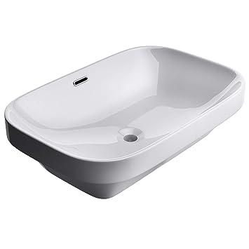 Lavabo vasque a encastrer evier design Bruxelles5082 larg x prof x ...
