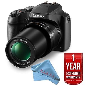 Amazon.com: Panasonic Lumix dc-fz80 dc-fz80 K cámara Digital ...