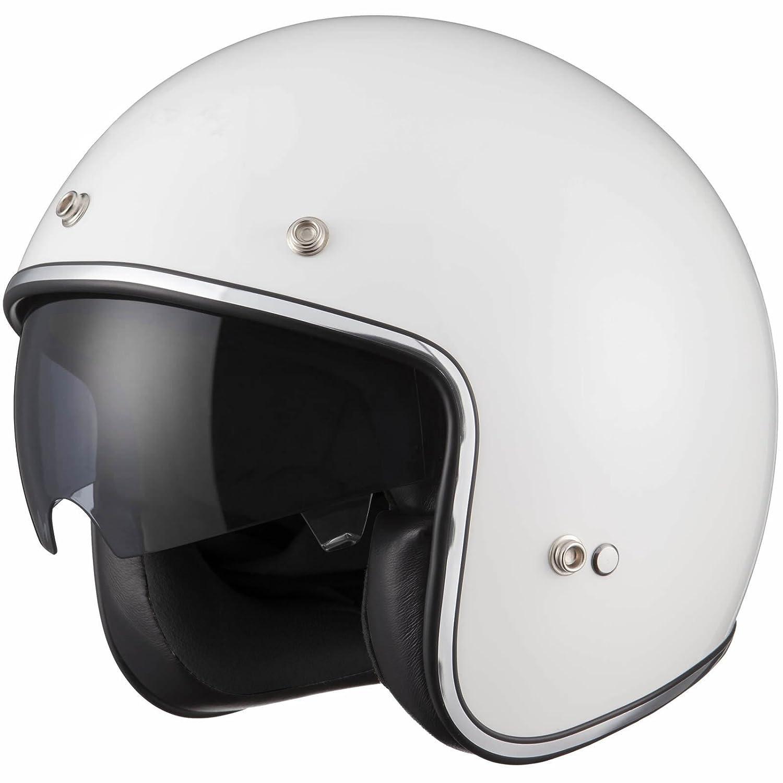 Leopard LEO-601 Open Face Helmet Scooter Motorbike Motorcycle Crash Helmet Touch Global Ltd