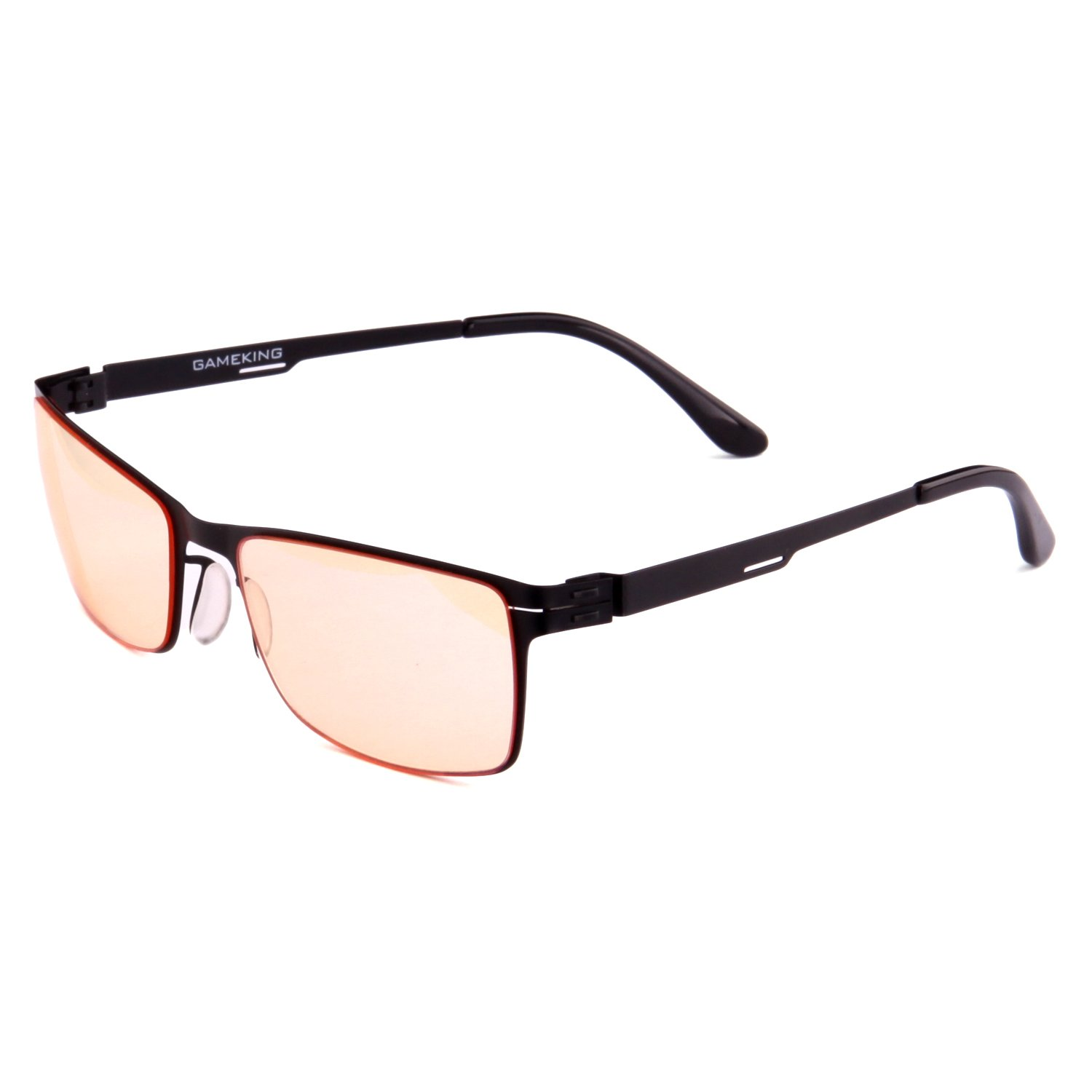 393cde2b7b GAMEKING Ultra SJ030 Premium Anti Blue Light Anti Glare Anti UV Computer  Glasses Gaming Glasses with Tan Tint Lens for Eye Strain Fatigue Relief  Better ...