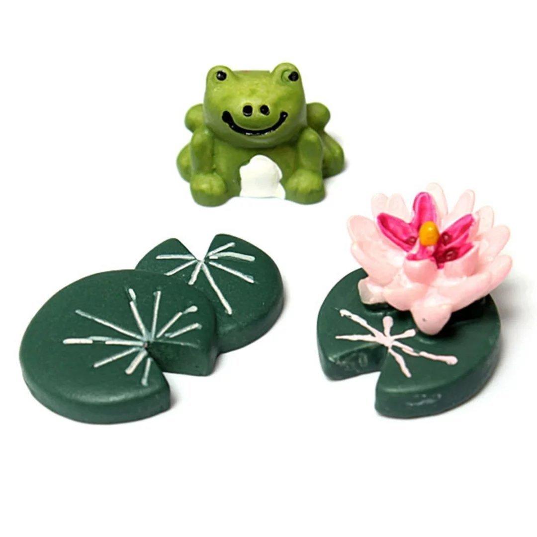 BESTIM INCUK Miniature Fairy Garden Cat Ornament Dollhouse Plant Pot Figurine DIY Decor Home Decoration