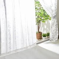 爱丽思广场 【共30种】蕾丝窗帘 防紫外线 从外面不易看见 隔热 清洗 节能