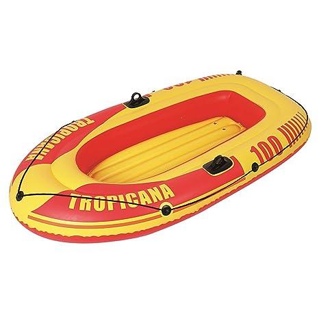 JILONG Tropicana Boat 100 Set - Bote Hinchable con Remo y ...