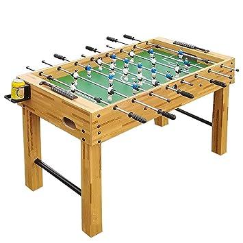 Gran mesa de fútbol Mesa de juego interior Azul Adulto para niños ...