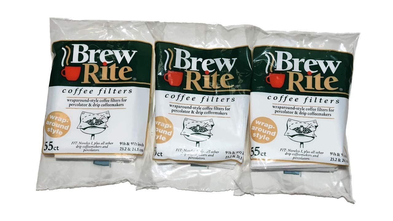 Brew Rite Rockline Wrap Around Percolator Coffee Filters (Pack of 3) 5124744