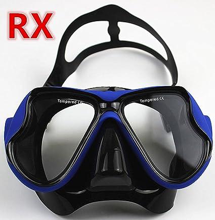 e4a295344db YEESAM SWIM Diving Mask Prescription Nearsighted Myopia Myopic - Scuba Dive  Snorkel RX Optical Corrective Lenses