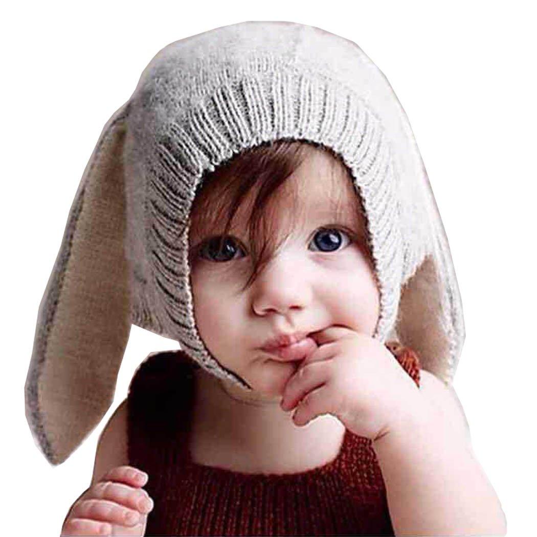 Sombrero de Invierno para Niños, Youson Girl® Sombreros de Bebé Chicas Niños Conejo Oído Gorro de punto de Invierno Cálido y lindo