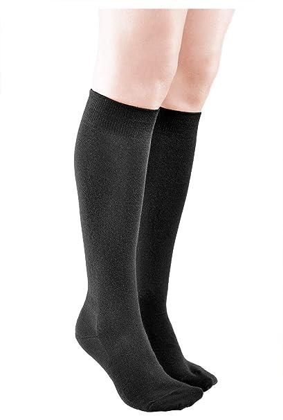 Vitsocks Calcetines Altos Mujer LANA MERINO de Calidad Premium Largos para Frio Invierno: Amazon.es: Ropa y accesorios