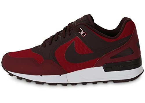 new styles ff5b7 40ca6 Nike Men s Air Pegasus  89 No Sew Running Shoes, Red Grey White