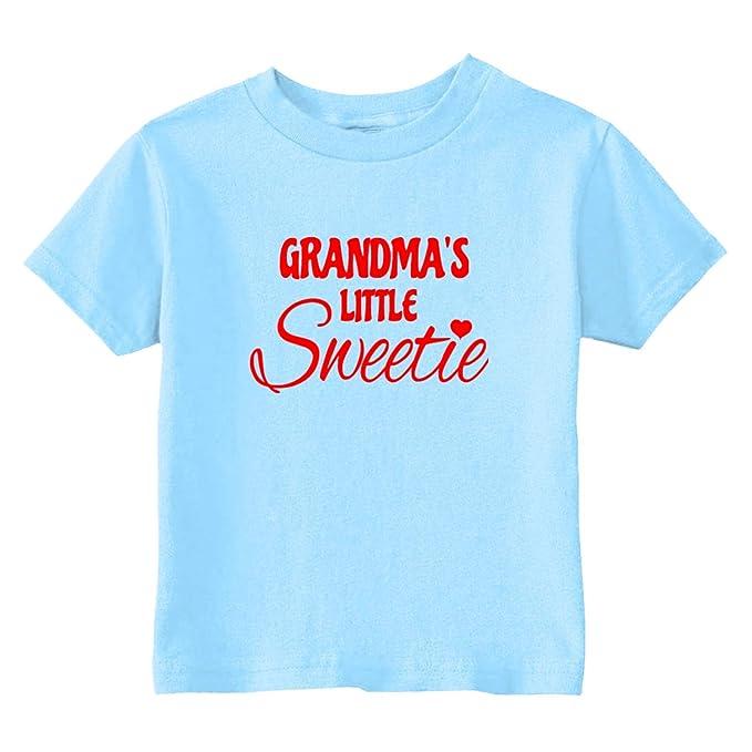 69b7758553237 Amazon.com: U.S. Custom Kids Grandma's Little Sweetie Heart Toddler ...