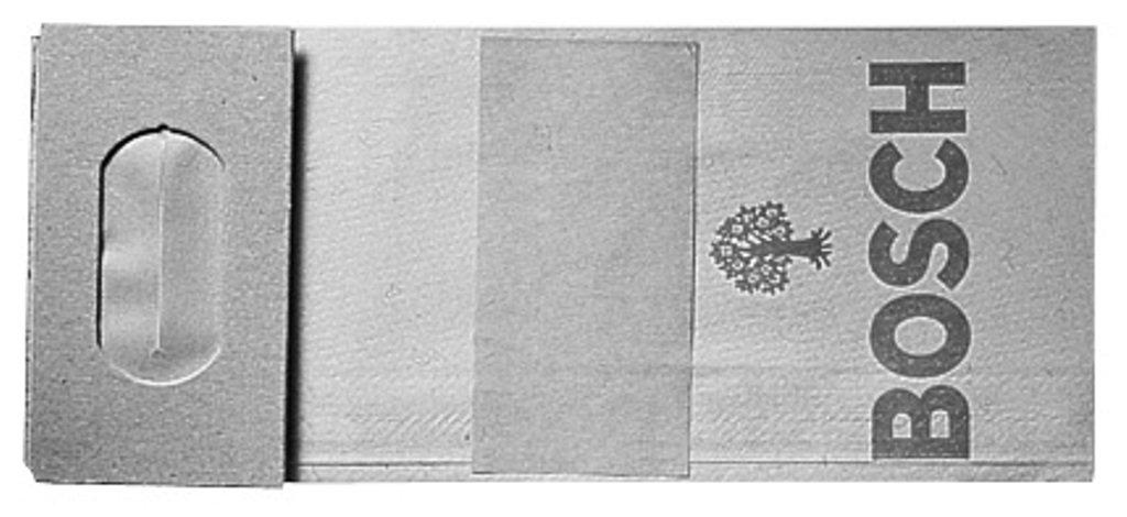 Bosch 2605411068 Sac à poussières pour ponceuses à bande, ponceuses excentriques, ponceuses vibrantes & entailleuses-rainureuses 10 pièces ponceuses vibrantes & entailleuses-rainureuses 10 pièces Bosch Professional