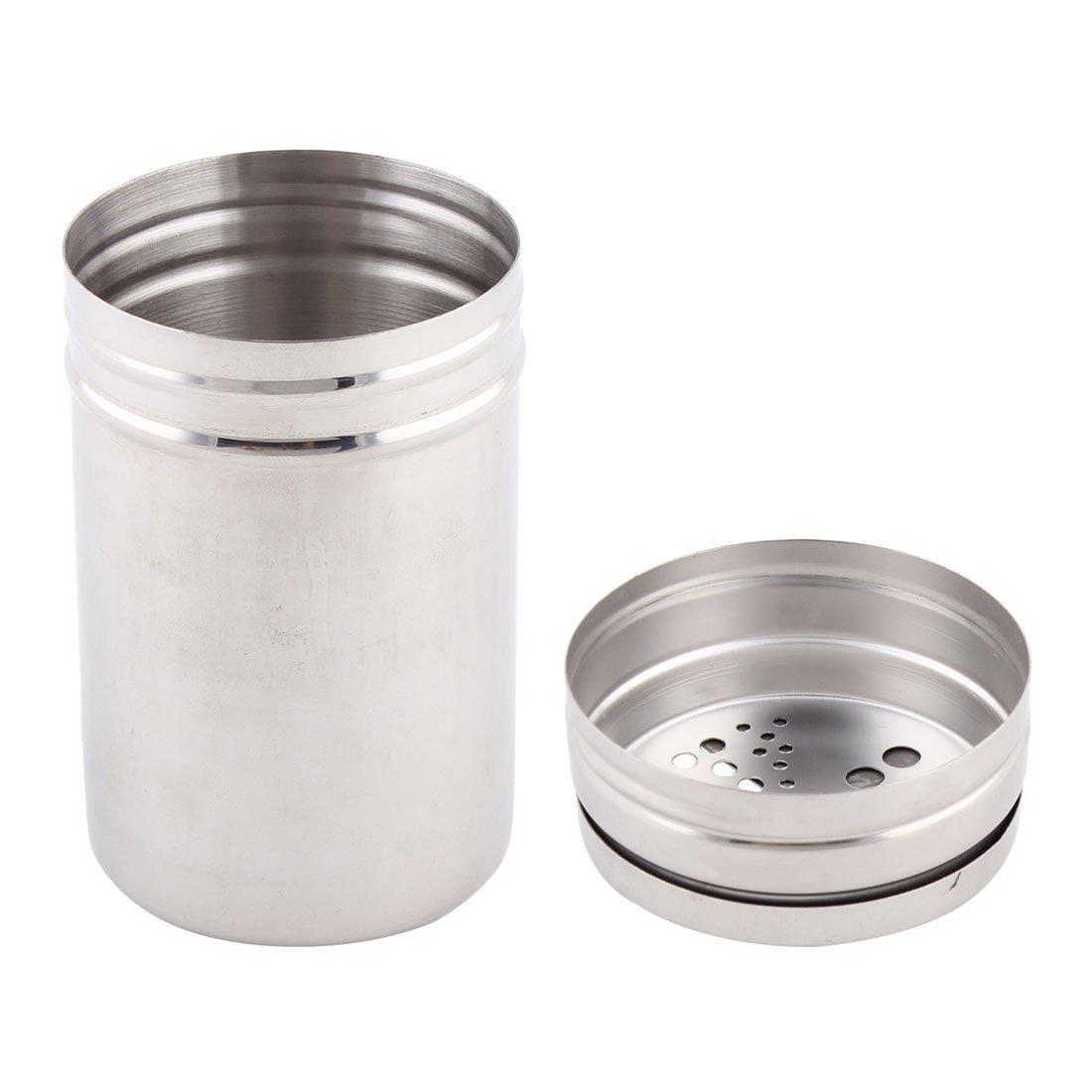 Amazon.com | eDealMax acero inoxidable Utensilios de cocina especias Sal pimentero condimento Vinagrera botella de 4, 5 pulgadas de alta: Condiment Pots