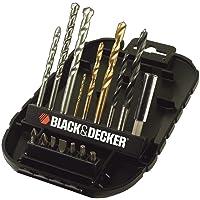 Black & Decker 16 Pieces Mixed Drilling Screwdriving Accessory Set, A7186-xj